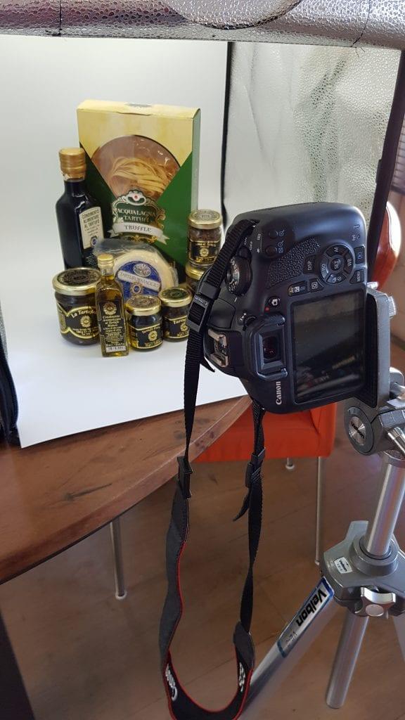 Truffel pakketten samenstellen voor ronalds Italië