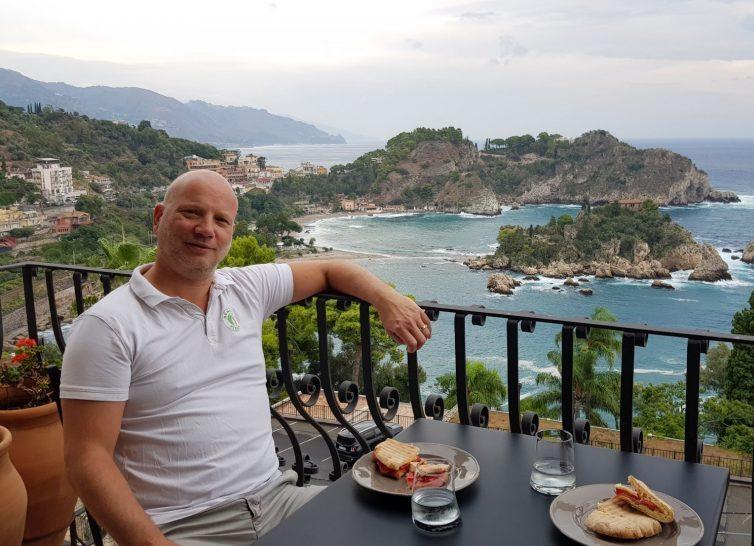 Ronalds Italie road trip Sicilie