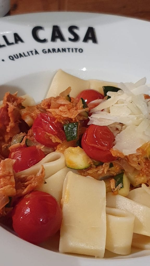 Tonijn pasta pakket met kerstomaten